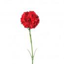 Carnation, 1 flower, L43cm, red